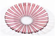 Sale 9007 - Lot 19 - Japanese Red Flashed Pinwheel Centrepiece, For Ricardo, original label, chip to rim (Dia38cm)