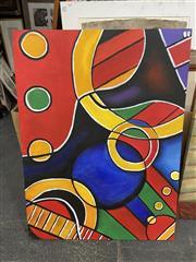 Sale 9028 - Lot 2100 - Artist Unknown Homage to Kandinskyacrylic 91 x 120cm unsigned