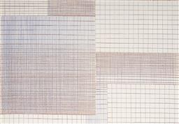 Sale 9099A - Lot 5081 - Joe Frost (3 works) - Grids, 1997 30 x 21cm, each
