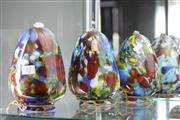 Sale 8346 - Lot 49 - Art Glass Glass Shades (3)