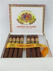 Sale 8423 - Lot 631 - 7x Ramon Allones Club Allones Cigars, Cuba - 2015 Edicion Limitada in original wood box marked OCT 15