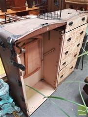 Sale 8431 - Lot 1006 - Vintage Fitted Travelling Trunk