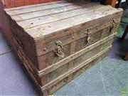Sale 8601 - Lot 1161 - Vintage Travel Trunk