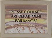 Sale 8764 - Lot 546 - Sidney Nolan (1917 - 1992) - Australian Landscape V, c1969 51.5 x 75.5cm