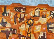 Sale 8867 - Lot 533 - Mark Schaller (1962 - ) - Abandoned Mining Town, 2012 137 x 183 cm