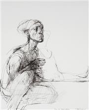 Sale 9063A - Lot 5009 - Margaret Woodward (1938 -) - Dancers - Australian Ballet Series 42.5 x 34.5 cm (frame: 76 x 66 x 3 cm)