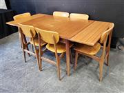 Sale 9056 - Lot 1069 - Chiswell 7 Piece Dining Suite (h:75 x w:151 x d:100cm)