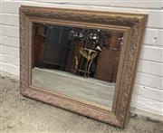 Sale 9063 - Lot 1032 - Carved Gilt Mirror with Bevelled Edge (78 x 63cm)