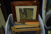 Sale 8530 - Lot 2054 - Collection of (15) Decorative Prints: Various Genres incl. Still Life & English Hunting Scenes (framed)