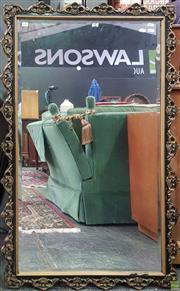 Sale 8611 - Lot 1051 - Ornate Gilt Framed Bevelled Edge Mirror