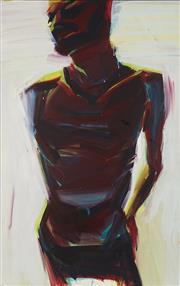 Sale 8764 - Lot 543 - Euan Mcleod - Torso, 1983 107.5 x 68cm