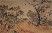 Sale 9047 - Lot 565 - William Boissevain (1927 - ) - Country Road, 1968 34.5 x 54.5 cm (frame: 47 x 67 x 3 cm)