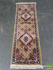 Sale 8462 - Lot 1026 - Indian Tabriz (180 x 60cm)