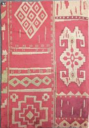 Sale 8680 - Lot 1076 - Red Woollen Floor Rug (234 x 174cm)