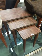 Sale 8676 - Lot 1377 - Small Nest of tables