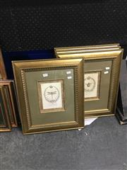 Sale 8702 - Lot 2078 - Collection of Four Royal Botanica Prints