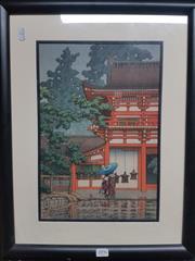 Sale 8762 - Lot 2096 - Woodblock Print