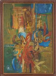 Sale 8901A - Lot 5081 - Merv Moriarty (1937 - ) - Abstract 83 x 59 cm