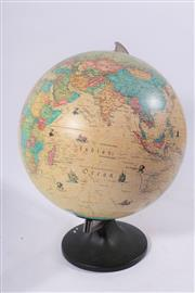Sale 9007 - Lot 31 - A World Globe On Stand H: 40cm