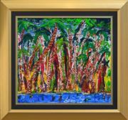 Sale 8349A - Lot 126 - Andrew R. Taylor (XX) - Wet Season, Kakadu 63.5 x 70cm