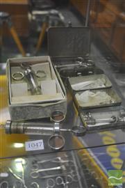 Sale 8326 - Lot 1047 - Collection of Vintage Glass Syringes