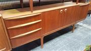 Sale 8383 - Lot 1072 - Quality McIntosh Teak Sideboard