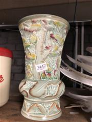 Sale 8766 - Lot 44 - Beswick Forest Scene Vase