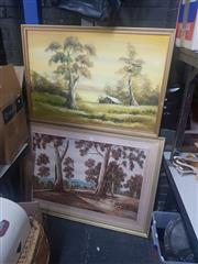 Sale 8833 - Lot 2092 - Australiana Paintings by Various Artists