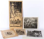 Sale 8994H - Lot 98 - Various monochrome prints -