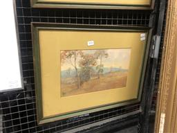 Sale 9152 - Lot 2026 - Henry Carter Springwood watercolour 37 x 49cm (frame) signed lower left