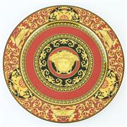 Sale 8356 - Lot 96 - Rosenthal Versace Medusa Red Charger