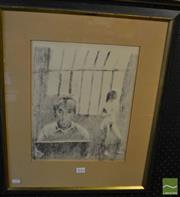 Sale 8464 - Lot 2046 - Raphael Soyer (1899-1987) - Untitled 36 x 29cm
