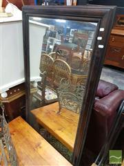 Sale 8495F - Lot 1026 - Timber Framed Rectangular Mirror