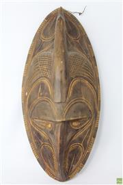 Sale 8603 - Lot 79 - Carved PNG Cultural Mask