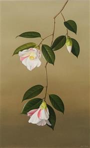 Sale 8656 - Lot 548 - Paul Osborne Jones (1921 - 1998) - Camellia Carillon 51 x 31.5cm