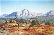 Sale 9013 - Lot 526 - Leonard Long (1911 - 2013) - Mount Conway, N.T., 1969 60 x 90 cm (frame: 76 x 103 x 5 cm)