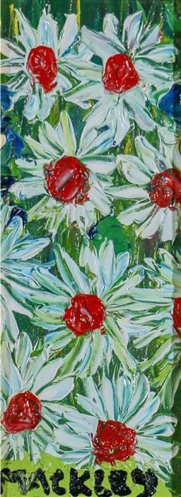 Sale 9143A - Lot 5025 - EVAN MACKLEY (1940 - 2019) - Nine Little Gems 22 x 8 cm (frame: 53 x 38 x 4 cm)