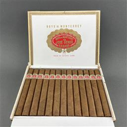 Sale 9142W - Lot 1097 - Hoyo de Monterrey Palmas Extra Cuban Cigars - box of 25 cigars, dated August 2020