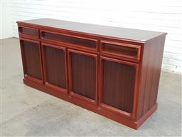 Sale 9151 - Lot 1059 - Chiswell 3 door sideboard with 3 drawers (h:76 x w:158 x d:45cm)