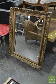 Sale 8361 - Lot 1039 - Gilt Framed Mirror With Studded Trim