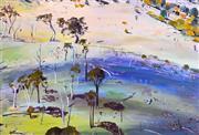 Sale 8394 - Lot 579 - Neroli Weaver (active 1990s) - Country Landscape, 1999 120 x 180.5cm