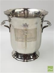 Sale 8439F - Lot 1879 - Good Plated Champagne Bucket