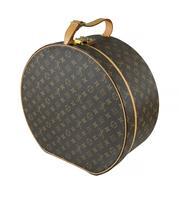 Sale 8618A - Lot 38 - A vintage French Louis Vuitton hat box;
