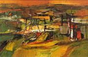 Sale 8652 - Lot 502 - Reinis Zusters (1919 - 1999) - Fishermans Hunt 29.5 x 44.5cm