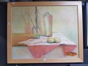 Sale 8762 - Lot 2092 - J. Gettens - Still Life, Acrylic, details Verso