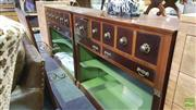 Sale 8383 - Lot 1348 - Marble Top Insert Mirrored Back Bar Unit