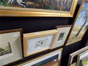 Sale 8461A - Lot 2065 - Original Oil Painting by Dorothy Siggins & a group (3) signed limited edition etchings