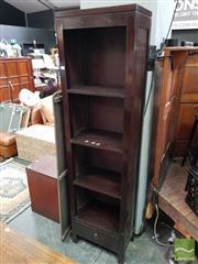 Sale 8480 - Lot 1058 - Tall Open Shelves