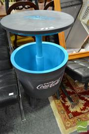 Sale 8507 - Lot 1075 - Modern Pop-Up Esky Table