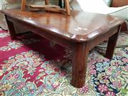 Sale 8585 - Lot 1702 - Timber Coffee Table